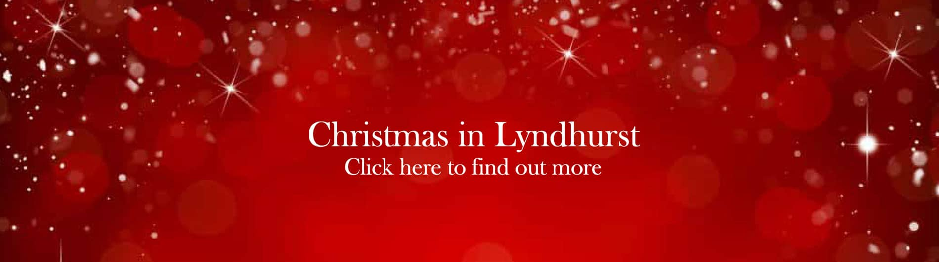 Christmas in Lyndhurst